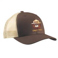Smokey Embroidered Trucker Hat