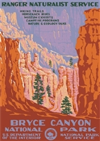 Bryce Canyon Official WPA Poster
