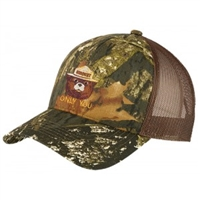 Smokey Embroidered Camo Trucker Hat