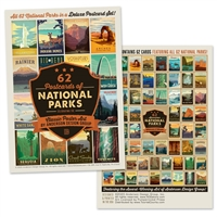 59 Postcards of National Parks