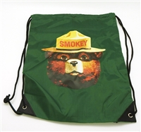 Smokey Bear Drawstring Backpack