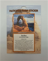 Arches National Park Passport Sticker