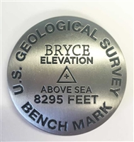Bryce Canyon Geological Survey Magnet