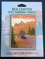 Red Canyon Dixie National Forest Collectible Patch