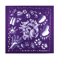 Animal Tracks Bandana