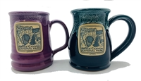 Natural Bridge Stoneware Mug - handmade in the USA