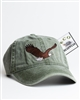 Embroidered Eagle Baseball Cap