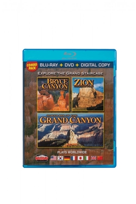 Blu-Ray - Zion, Bryce Canyon & the North Rim of Grand Canyon