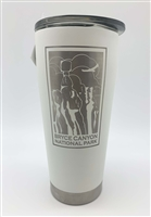 16oz Tumbler with slide Lid and Bryce Canyon Etching