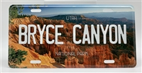 License Plate - Bryce Canyon National Park