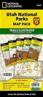Utah National Parks Map Pack - The Mighty Five