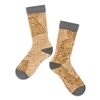 Bryce Canyon National Park Map Socks