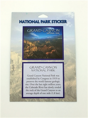 Grand Canyon National Park Passport Sticker