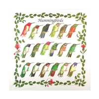 Hummingbirds Bandana