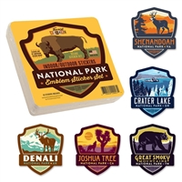 National Parks Emblem Sticker Set