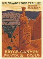 Bryce Canyon Poster - Retro Ranger Series