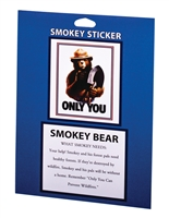 Only You Smokey Bear Passport Sticker
