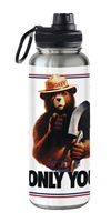 Smokey Bear 32oz Insulated Bottle
