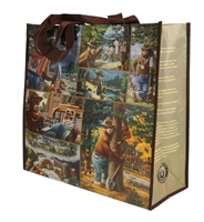 Smokey Bear Recycled Tote Bag