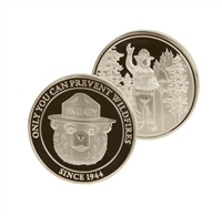 Smokey Bear Collectable Coin