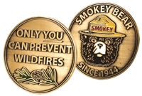 Smokey Bear Collectable Challenge Coin