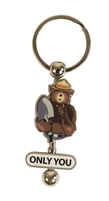 Smokey Bear Spinner Keychain