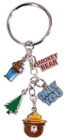 Smokey Bear Dangle Key Chain