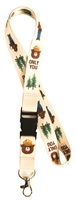 Smokey Bear Lanyard