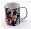 Smokey Bear Collage Mug