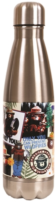 Insulated Stainless Steel Smokey Bear Bottle