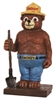 Smokey Bear Mini Resin Statue