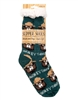 Smokey Bear Slipper Socks