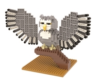 Great Horned Owl Mini Building Blocks