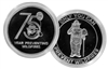Smokey Bear 75th Anniversary Silver Coin