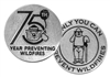Smokey Bear 75th Anniversary Token