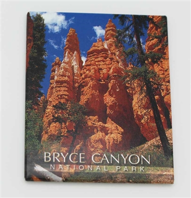 Bryce Canyon Hoodoos Badge Magnet