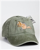 Embroidered Chipmunk Baseball Cap
