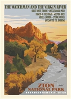 Zion National  - Retro Ranger Series