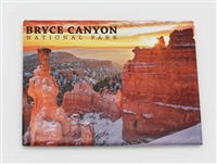 Winter Hoodoos Badge Magnet