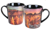 "Bryce Canyon - Fairyland ""Night Sky"" 18oz Foil Java Mug"