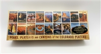 Peaks, Plateaus and Canyons Retro Art Puzzle