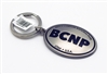 Bryce Canyon Oval Pewter BCNP keychain