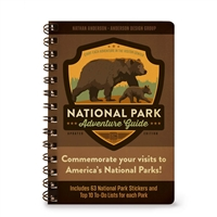 National Park Adventure Guide - Spiral Bound