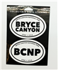 Bryce Canyon Two Pack Stickers