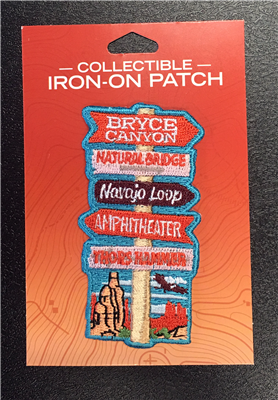 Bryce Canyon You Are Here Collectible Patch
