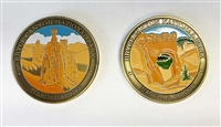 Colorized Bryce Canyon Collectible Coin