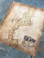 Bryce Canyon Map Blanket