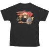 Smokey Bear Flames T-shirt