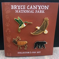 Wildlife Pin Collection Set(4)