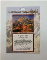 Capitol Reef National Park Passport Sticker